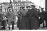 German Generals Blaskowitz and Weichs in Warsaw, Poland, Sep-Oct 1939, photo 5 of 5