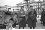 German Generals Blaskowitz and Weichs in Warsaw, Poland, Sep-Oct 1939, photo 1 of 5
