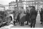 German Generals Blaskowitz and Weichs in Warsaw, Poland, Sep-Oct 1939, photo 3 of 5