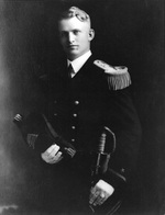 Portrait of Ensign Burke, Los Angeles, California, United States, fall 1923