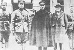 Chiang Kaishek and Song Zheyuan in Hebei, 1933