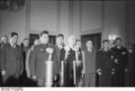 General Vasily Chuikov and Ambassador Vladmir Semyonov at the founding of East Germany, Berlin, 7 Oct 1949, photo 2 of 5