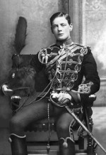 Portrait of Subaltern Winston Churchill of the UK 4th Hussars, Feb 1895, photo 1 of 2