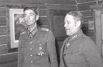 German Colonel General Dietl with Finnish Colonel Willamo, Finland, Sep 1943
