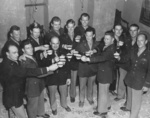 James Doolittle and fellow raiders at a reunion in North Africa, 18 Apr 1943