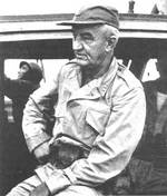 Robert Eichelberger in the South Pacific, date unknown