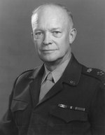 US Army portrait of Eisenhower, 18 Nov 1947
