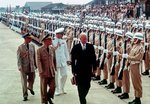 US President Eisenhower and Chinese President Chiang in Taipei, Taiwan, Republic of China, 18 Jun 1960