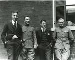 Dwight Eisenhower with friends, 1919