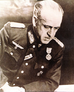 Spanish Army General Esteban Infantes, commanding officer of the German 250th Infantry Division