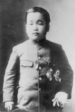 Portrait of Crown Prince Yi Un of Korea, late 1907