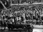Duke and Duchess of York at Brisbane, Australia, 6 Apr 1927