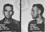 Mugshots of Amon Göth, 29 Aug 1945