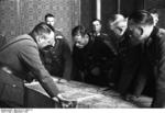 Red Commander Vladimir Yulianovich Borovitsky and German General Heinz Guderian in Brest, Poland (now Brest, Belarus) to work out the German-Soviet boundary demarcation of occupied Poland, 21 Sep 1939. Photo 1 of 2