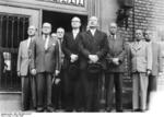 Heusinger and other chiefs of the Amt Blank at Bonn, Germany, 5 May 1955