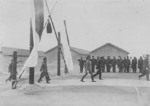 Crown Prince Hirohito visiting Beimen Salt Works in Tainan, Taiwan, 21 Apr 1923, photo 1 of 2