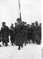 Chancellor Adolf Hitler arriving at the opening ceremony of the IV Olympic Winter Games, Garmisch-Partenkirchen, Bavaria, Germany, 6 Feb 1936, photo 1 of 2