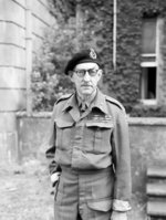 Major General Percy Hobart, commanding officer of UK 11th Armored Division, 16 Jun 1942