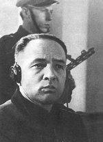 Rudolf Höss on trial at the Supreme National Tribunal, Poland, 11-29 Mar 1947