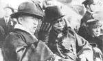 Rhee Syngman and Kim Gu, Korea, 1 Dec 1945