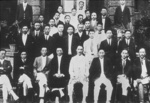 Kim Gu and other members of the Provisional Government of the Republic of Korea in Shanghai, China, 17 Sep 1919