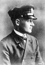 Lansdorff as a midshipman, 1912