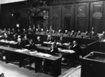 Defendants of the Hostages Trial during the Nuremberg Trials, Nürnberg, Germany, 1947-1948