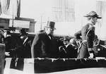 Lt Cmdr Leahy as President William H. Taft