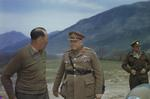 General Henry Wilson and Lieutenant General Oliver Leese, Mignano Monte Lungo, Italy, 30 Apr 1944, photo 2 of 4