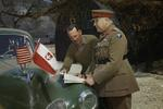 General Henry Wilson and Lieutenant General Oliver Leese, Mignano Monte Lungo, Italy, 30 Apr 1944, photo 4 of 4