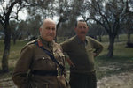 General Henry Wilson and Lieutenant General Oliver Leese, Mignano Monte Lungo, Italy, 30 Apr 1944, photo 1 of 4