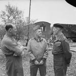 Oliver Leese, Jacob Devers, and Richard McCreery in Italy, 1943-1944