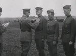 Douglas MacArthur being decorated in the field during WW1, photo 1 of 2