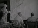 US President Roosevelt in conference with MacArthur, Leahy, and Nimitz, at the Queen's Surf Residence, Honolulu, Oahu, US Territory of Hawaii, 28 Jul 1944, photo 3 of 3