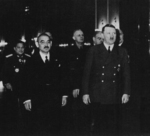 Matsuoka and Hitler in Germany, late Mar 1941
