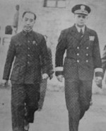 Dai Li and Milton Miles, China, 1940s
