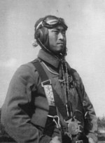 Ethnic Korean pilot Fumihiro Mitsuyama (born Tak Kyonghyong) of the Japanese Army, date unknown