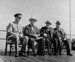 Earl of Athlone, Roosevelt, Churchill, and King, Octagon Conference, 12 Sep 1944