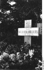 The grave of Werner Mölders, Invalidenfriedhof, Berlin, Germany, 1941-1942