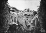 Australian Army Captain Leslie Morshead in a trench during Battle of Lone Pine, Gallipoli, Turkey, circa 6-10 Aug 1915