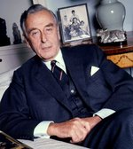 Earl Louis Mountbatten at his apartment in Belgravia, London, England, United Kingdom, 1973