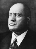 Portrait of Benito Mussolini, date unknown