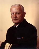 Portrait of Rear Admiral Chester Nimitz, circa 1940-1941