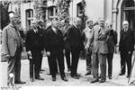 German cabinet members Neurath and Papen, Berlin, Germany, Jun 1932, photo 2 of 3