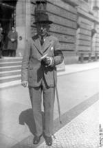 Franz von Papen in Berlin, Germany, Jun 1932