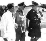 Archibald Wavell and Hein ter Poorten at Batavia, Java, Dutch East Indies (now Jakarta, Indonesia), 22 Jan 1942