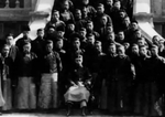 Puyi and members of his entourage, Tianjin, China, 1920s