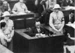 Puyi at the International Military Tribunal for the Far East in Tokyo, Japan, mid-Aug 1946, photo 3 of 6