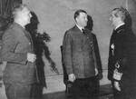 Ribbentrop, Hitler, and Horthy, date unknown