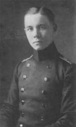 Rommel as a cadet at Royal Officer Cadet School, Danzig, circa 1910